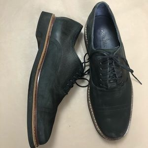 Cole Haan loafer navy blue leather shoes SZ 10M
